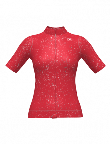 4Cyclists women cycling jersey evo race jam red