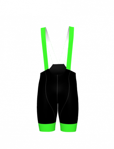 4Cyclists men cycling bibshorts evo race echelon green
