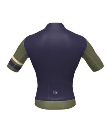 4Cyclists men cycling jersey evo race prime navy