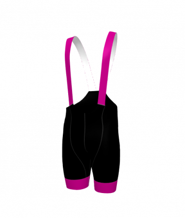 4Cyclists women cycling bibshorts evo race echelon fuchsia