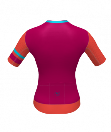 4Cyclists women cycling jersey evo aero prime fuchsia