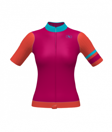 4Cyclists women cycling jersey evo race prime fuchsia