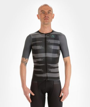 Cycling jersey mens 4cyclists evo aero echelon grey