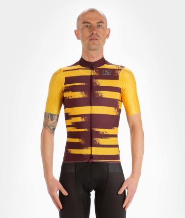 Cycling jersey mens 4cyclists evo race echelon yellow