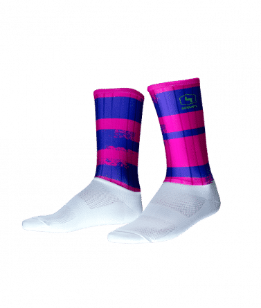 4CYCLISTS-Cycling-Socks-Aero-Echelon-Fuchsia