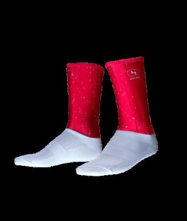 4CYCLISTS-Cycling-Socks-Aero-Jam-Red