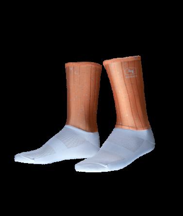 4CYCLISTS-Cycling-Socks-Aero-Jam-Salmon