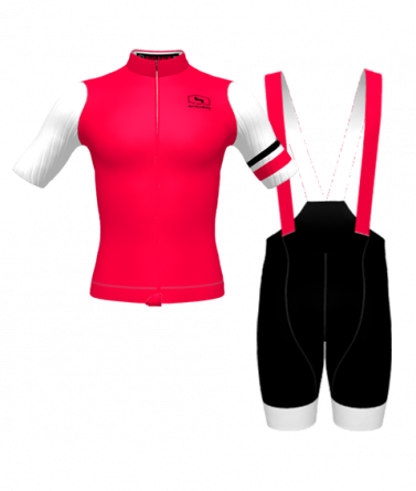 4CYCLISTS-Mens-Cycling-Kit-Evo-Race-Prime-Red