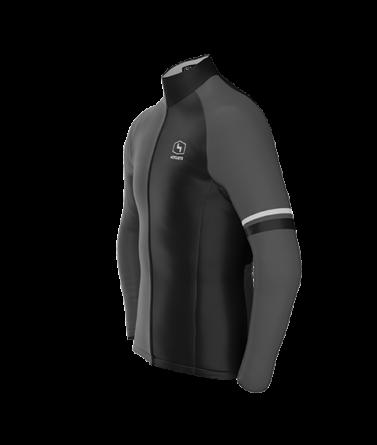 4CYCLISTS Men`s Black AboutZero jacket
