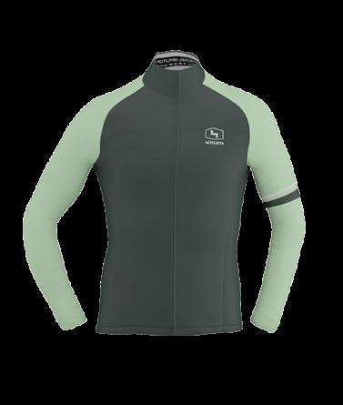 4CYCLISTS Men`s Moss Green AboutZero jacket