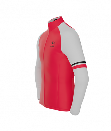 4CYCLISTS Men`s Red AboutZero jacket