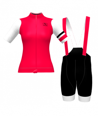 4CYCLISTS-Womens-Cycling-kit-Evo-Race-Prime-Red