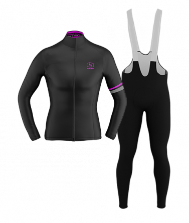 4CYCLISTS-Womens_Cycling-AboutZero-Kit-Black