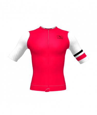 4CYCLISTS Men's Cycling Jersey Evo Aero Prime Red