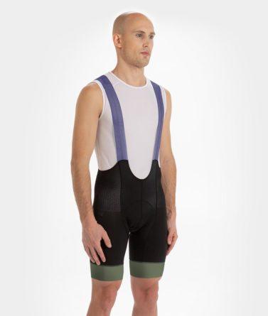 Cycling bib shorts mens 4cyclists evo aero prime navy