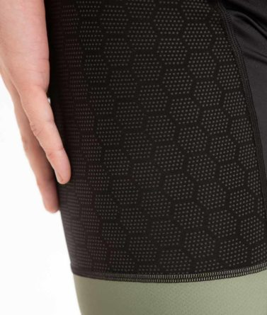 Cycling bib shorts mens 4cyclists evo shield prime navy details