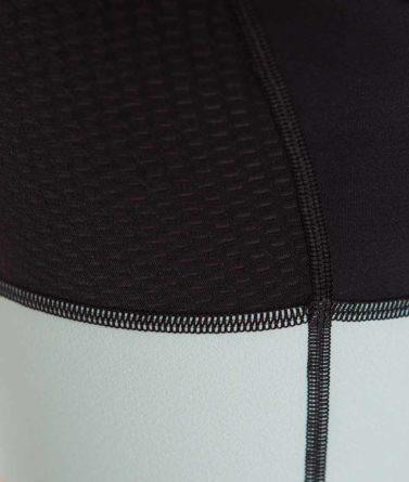 Cycling bib shorts womens 4cyclists evo aero prime moss green details