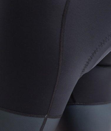 Cycling bib shorts womens 4cyclists evo race prime black details
