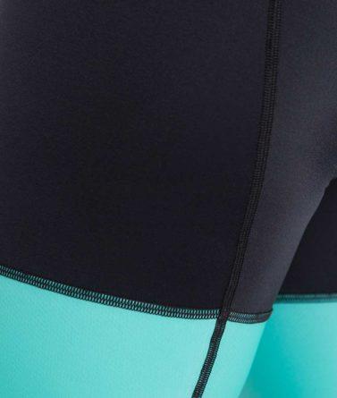 Cycling bib shorts womens 4cyclists evo race prime green details