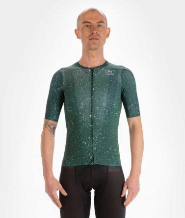 Cycling jersey mens 4cyclists evo aero jam green