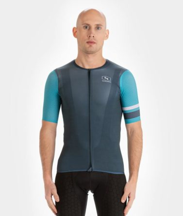 Cycling jersey mens 4cyclists evo aero prime blue