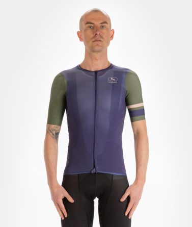 Cycling jersey mens 4cyclists evo aero prime navy