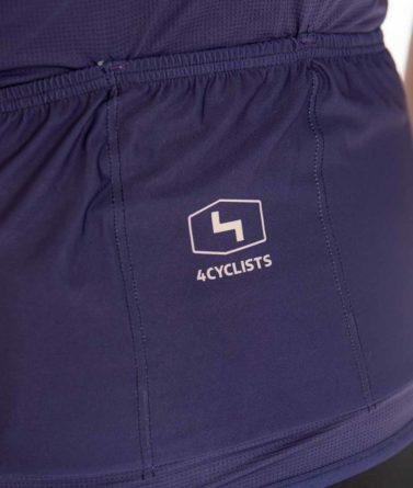Cycling jersey mens 4cyclists evo aero prime navy pocket