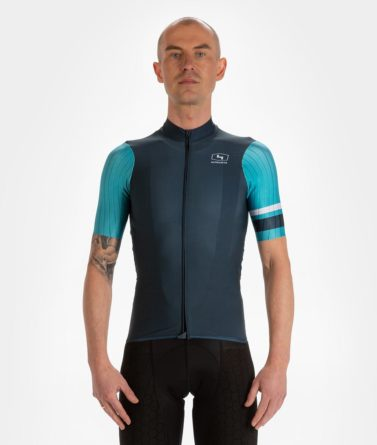 Cycling jersey mens 4cyclists evo race prime blue