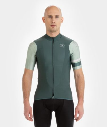 Cycling jersey mens 4cyclists evo race prime moss green