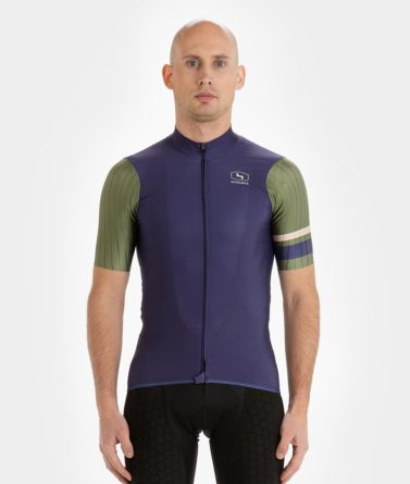 Cycling jersey mens 4cyclists evo race prime navy