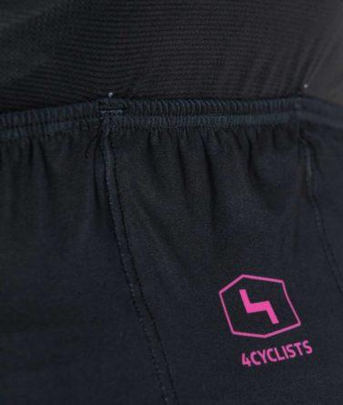 Cycling jersey womens 4cyclists evo aero prime black pocket