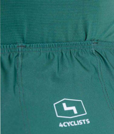 Cycling jersey womens 4cyclists evo aero prime green pocket