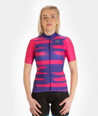 Cycling jersey womens 4cyclists evo race echelon fuchsia