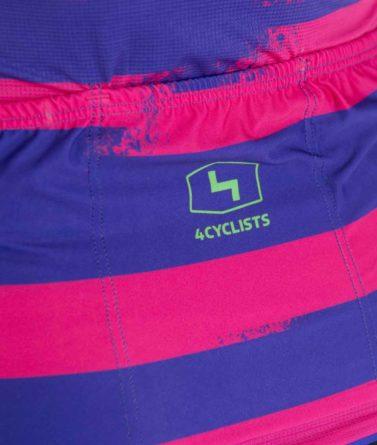 Cycling jersey womens 4cyclists evo race echelon fuchsia pocket