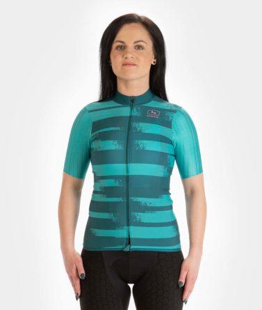 Cycling jersey womens 4cyclists evo race echelon teal