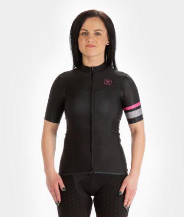 Cycling jersey womens 4cyclists evo race prime black