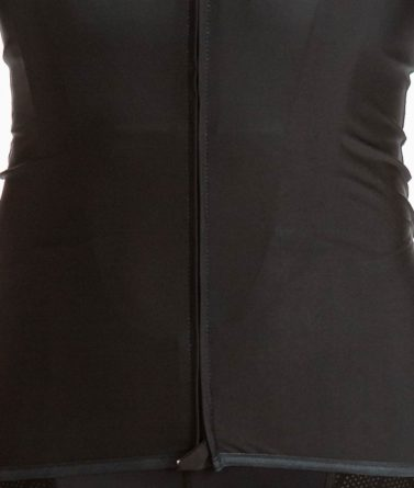Cycling jersey womens 4cyclists evo race prime black close-up