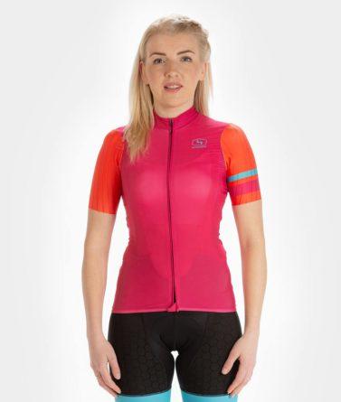 Cycling jersey womens 4cyclists evo race prime fuchsia